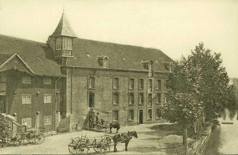 Moulin de l'Abbaye de Sept-Fons vers 1880