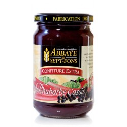 Confiture Extra RHUBARBE-CASSIS