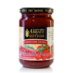 Confiture Extra RHUBARBE-FRAISE
