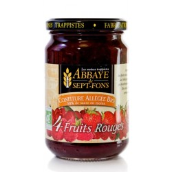 Confiture Allégée 4 Fruits Rouges BIO