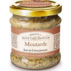 MOUTARDE BIO A L'ANCIENNE - 210 g