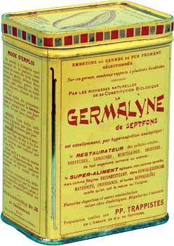 Boîte ancienne de la Germalyne années 1930