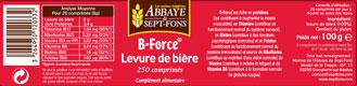 B-FORCE Levure de bière