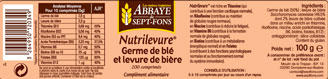 Nutrilevure Germe de blé Levure de bière